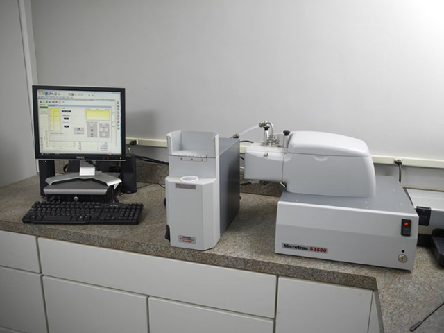 Equipment used to test and analyze metal powders